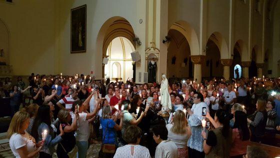 Sant'Ana celebra a memória de Nossa Senhora de Fátima